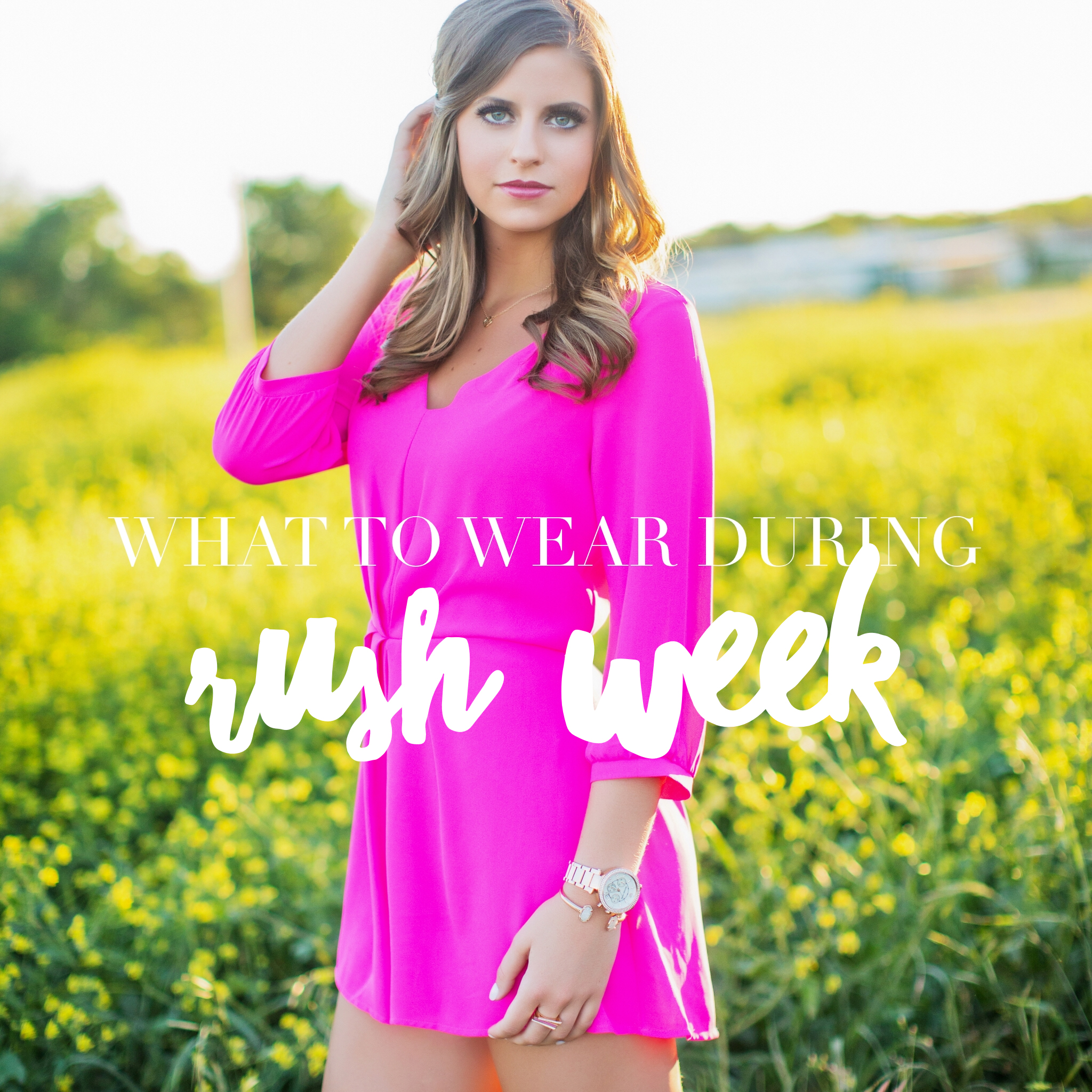 What to Wear During Sorority Rush Week