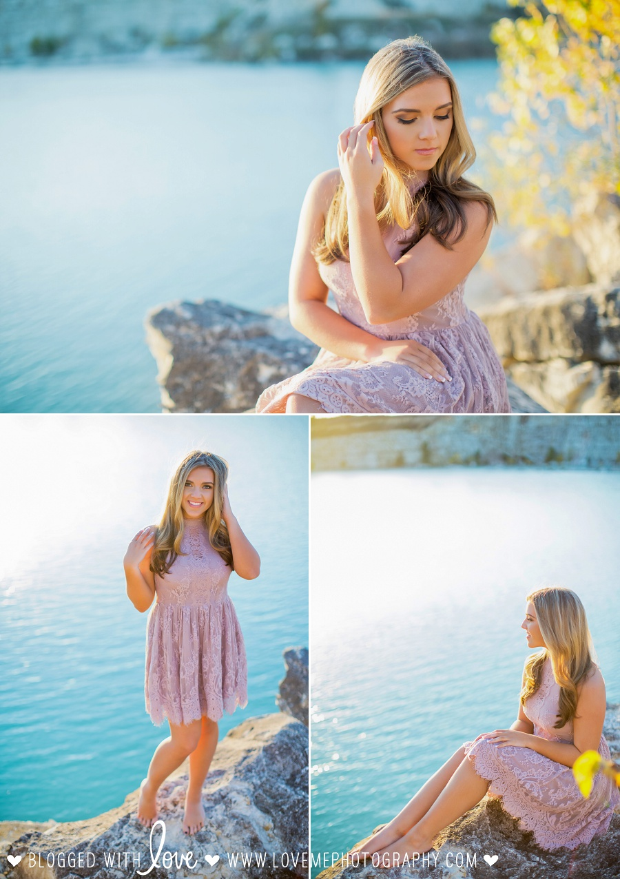Fall senior portrait session by Dallas-Fort Worth senior photographer Love, Me Photography