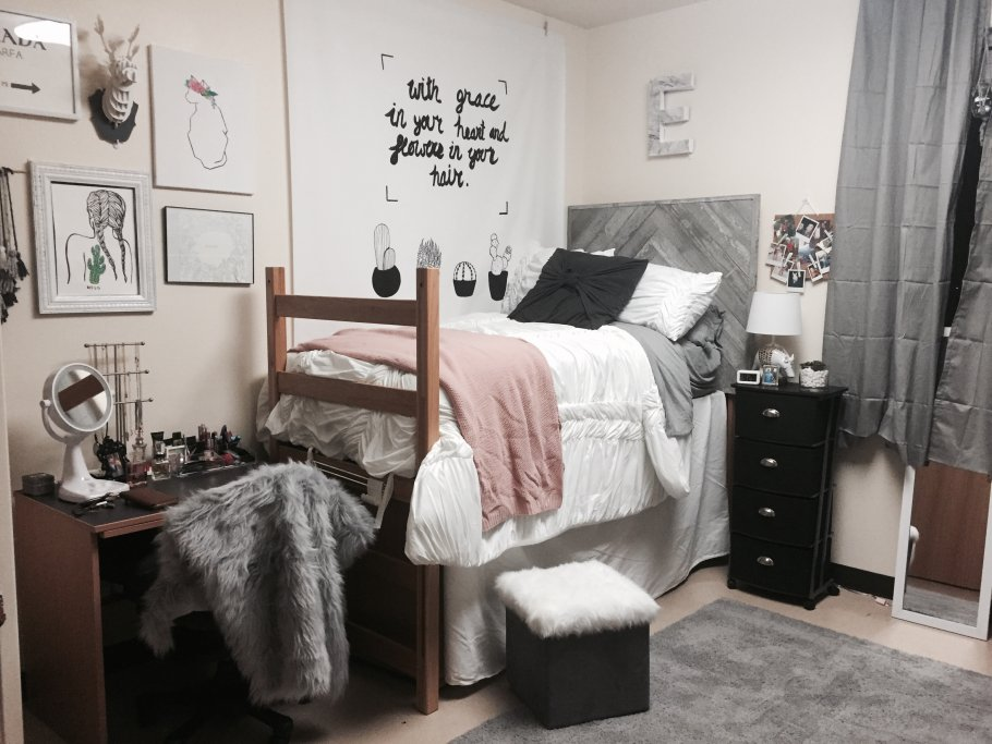Creative dorm room ideas to make your space more cozy love me photography - How to decorate a single room ...