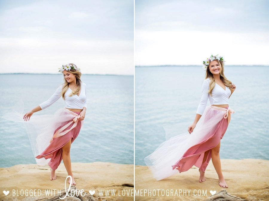 Bohemian Senior Portraits by Love Me Photography