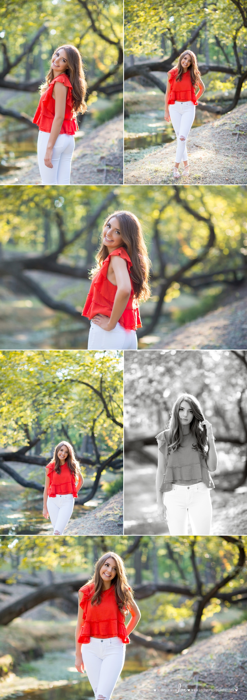 Halee's Senior Portrait Session | Grapevine and Southlake Senior Portrait Photographer | Love, Me Photography